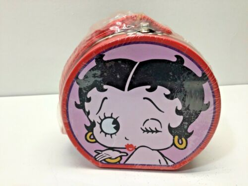 Betty Boop Limited Edition Tin Mini Lunchbox Purse With Candy New Sealed 1999