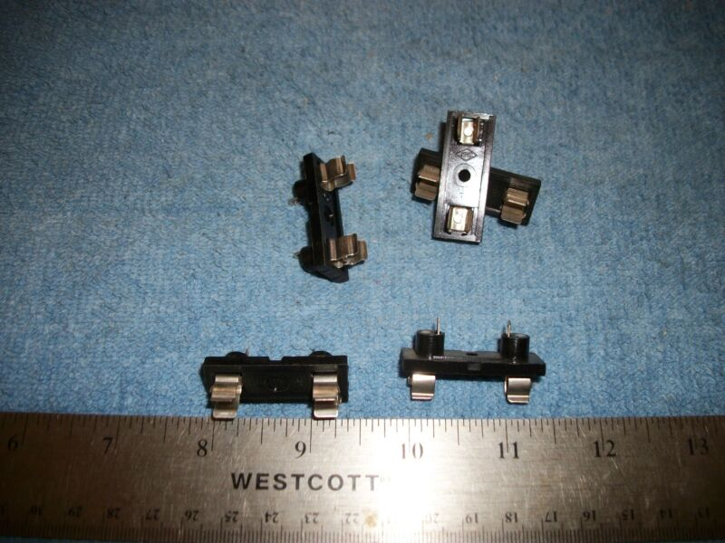LOT OF FUSE HOLDERS/BLOCKS FOR 3AG SIZE FUSES! S