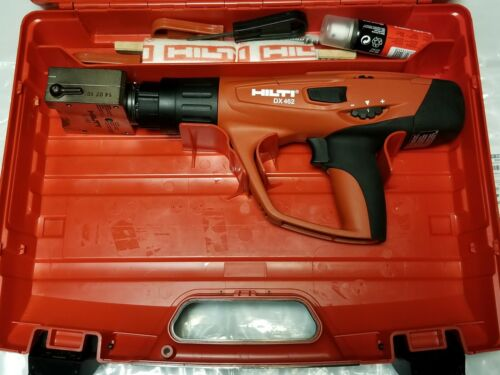 HILTI DX 462 Powder actuated tool with X-HM Head,(USED).
