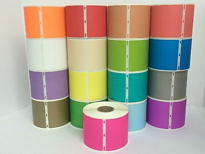 2 Roll Pink Dymo Compt 30256 Labelwriter 300 Labels Pr 330 400 450 Turbo 4xl