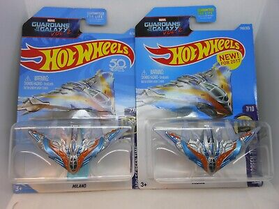 HOT WHEELS ~ Guardians of the Galaxie ~ MILANO ~ Set of 2 ~ Marvel ~ Screen Time