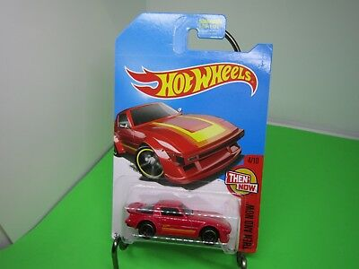 '95 MAZDA RX-7✰Kmart Exclusive RED; j5✰THEN AND NOW✰2017 Hot Wheels Case Q