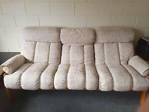Sofa with wooden legs Henley Beach South Charles Sturt Area Preview