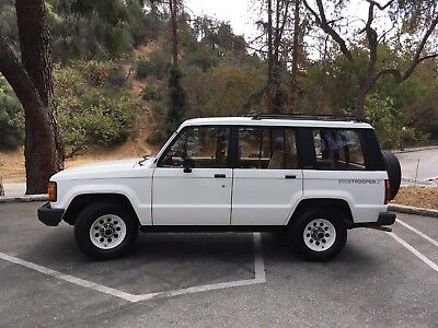 1986 Isuzu Trooper  Isuzu Trooper II
