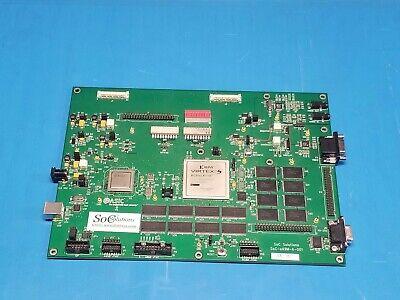 Soc Solutions Pcb W Xilinx Virtex 5 Fpga Xc5vlx220 Easic Arm926ej-s Processor