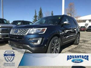 2017 Ford Explorer Platinum Remote Start - Heated Seats