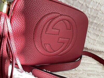 Gucci Soho Disco Bag Crossbody Tassel