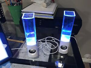Color water speakers