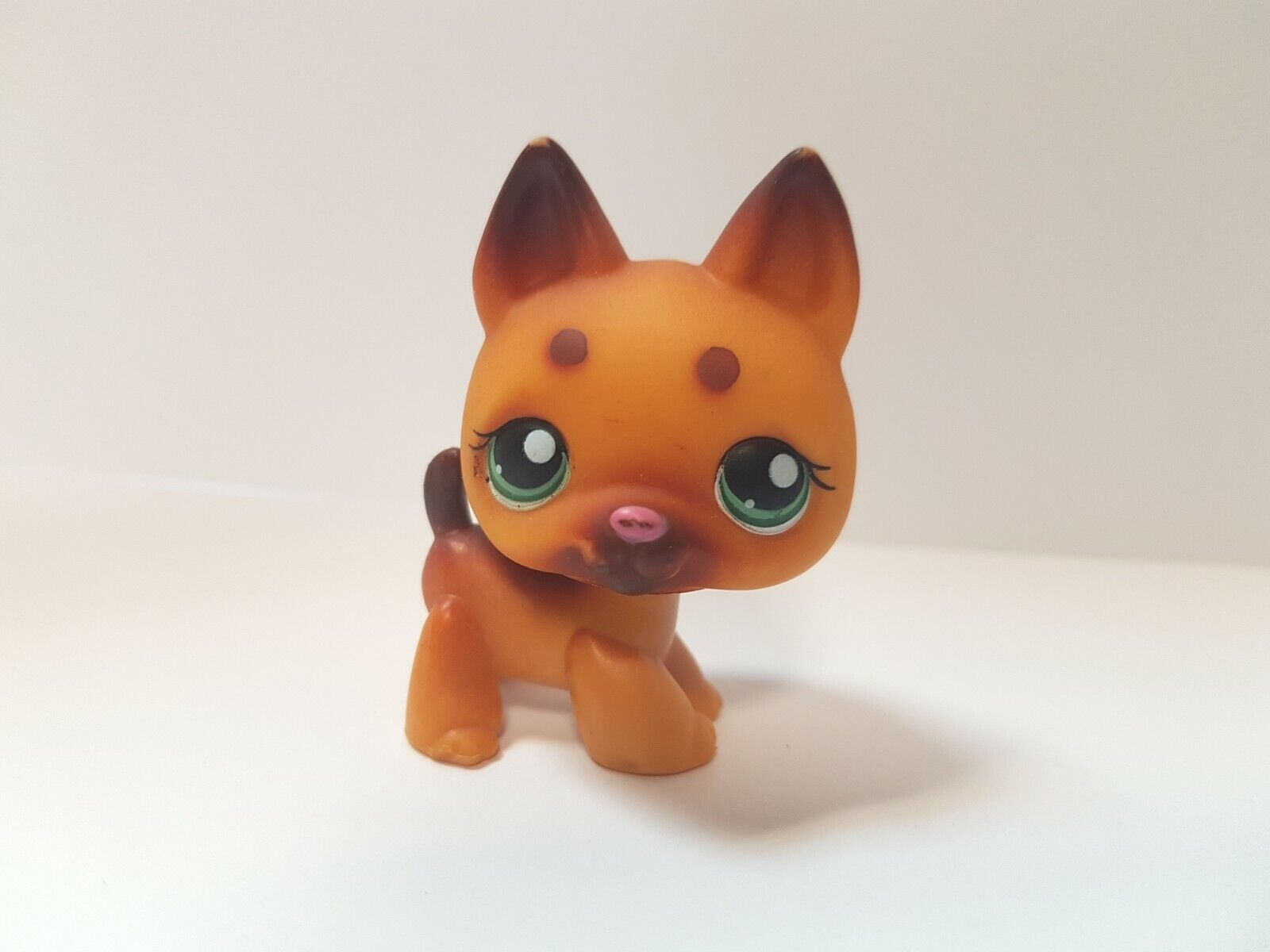 Figurine   petshop  original  chien dog  berger allemand 357   pet shop lps