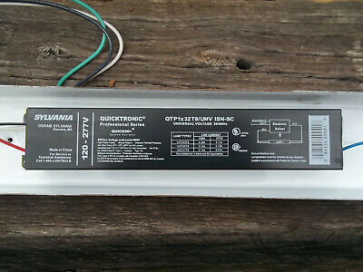 New-Sealed Sylvania Electronic Ballast QTP2x40T12//UNV 120//277VAC