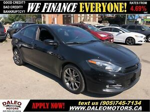 2013 Dodge Dart SXT| REAR CAM| NAVIGATION | TWO-TONE RED INTERIO