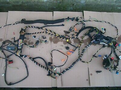 PEUGEOT 206 INTERIOR WIRING LOOM AIRBAG REAR BOOT BSI OFF 2002 YEAR 9646298280