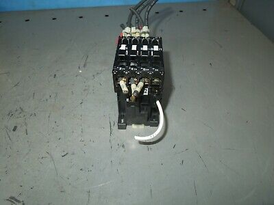 Abb B12-30-01 21-28a 600v Contactor 110-120v Coil Used
