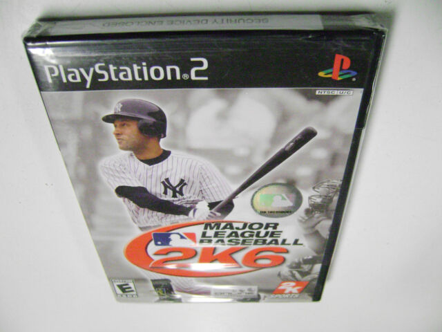 Major League Baseball 2K6 (Sony PlayStation 2) BRAND NEW FACTORY SEALED