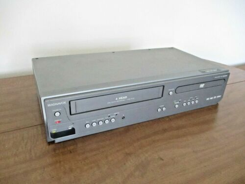 Magnavox MWD2206 4-Head DVD Player VCR VHS Combo - TESTED