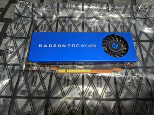 AMD Radeon Pro WX 4100 4GB PCI-E Graphics Card - $100.00