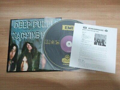 DEEP PURPLE Machine Head 1974 Korea Orig Vinyl LP Insert Purple Labels RARE