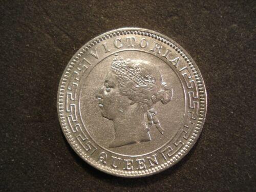 1895 Ceylon 50 Cents