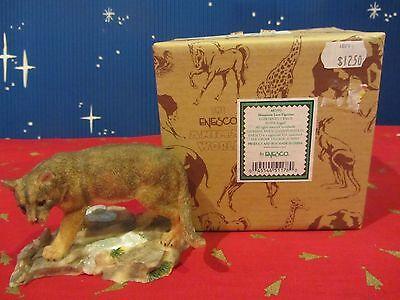 Enesco MOUNTAIN LION  figure 1998  in box #461792  (A316N)