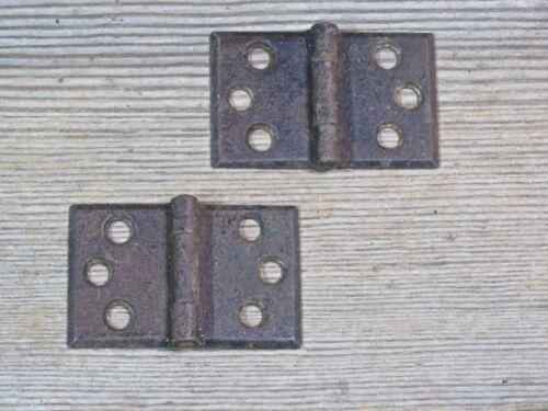 Steel Shutter Hinges : Cabinet door interior shutter hinges old rustic brown