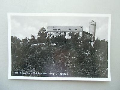 Ansichtskarte Bad Blankenburg Thüringerwald Burg Greifenstein  (Nr.605)