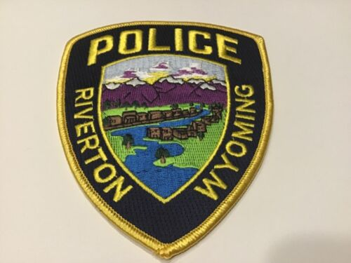 RIVERTON POLICE WYOMING  PATCH
