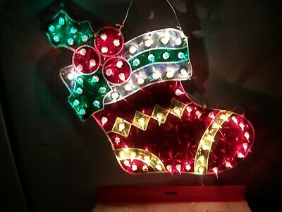 Vintage Celebrations 70 Light Indoor/Outdoor Holographic Stocking Decoration