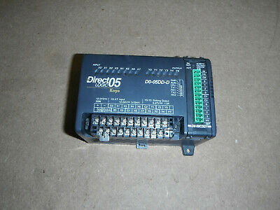 Direct Logic Plc Do-05dd-d With Analog Input Module 5174