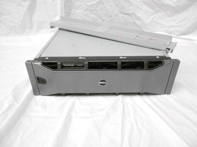 Dell EqualLogic PS6000E 16x 1TB SATA Dual Cont PS6000 16TB ISCSI SAN Storage