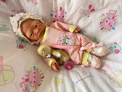 "Full Body Silicone 11"" Reborn Baby Girl Holly By Kimberly Keller At Kimbry Dolls"