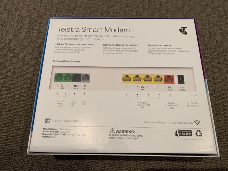 Telstra NBN Smart Modem Gen 1 | Modems & Routers | Gumtree
