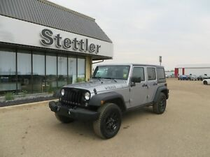 2016 Jeep Wrangler Unlimited WILLY'S! AUTOMATIC! TOUCHSCREEN!