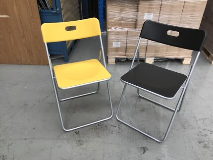 100-150 ikea (gunde) folding chairs
