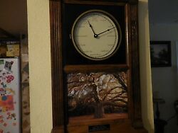 Solid Wood Wall Clock Countryside Inc. a Native Treasure THE GREAT OAK 2005