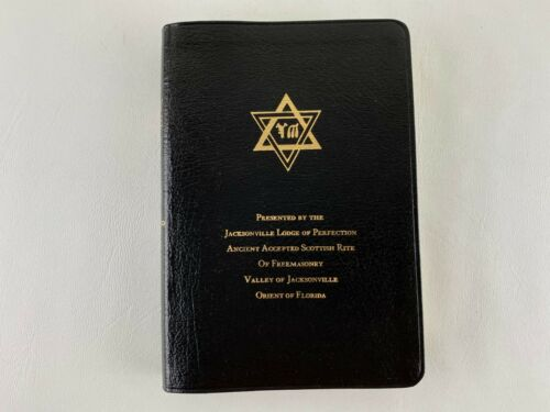 Holy Bible Temple Illustrated Edition Masonic Scottish Rite Jacksonville Lodge