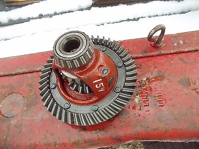 International Cub 154 Low Boy Tractor Ih Main Rearend Pinion Drive Gear