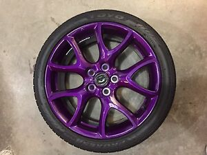 MazdaSpeed3 rims
