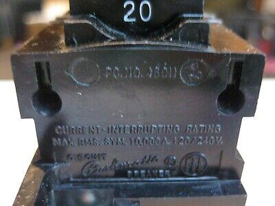 2P POLE 240V CIRCUIT BREAKER P220 PUSHMATIC ITE BULLDOG 20A AMP U