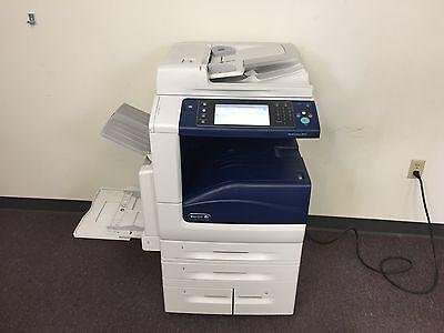 Xerox Workcentre 7835 Color Copier Machine Network Printer Scanner Fax Copy Mfp