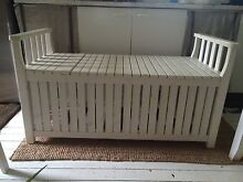 IKEA ANGSO STORAGE BENCH/OUTDOOR/INDOOR WHITE Turramurra Ku-ring-gai Area Preview
