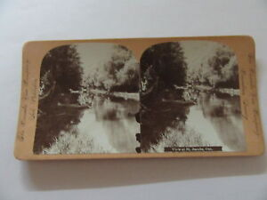 ANTIQUE STEREOVIEW ST. JACOBS WATERLOO ON CANADA VIEW CO