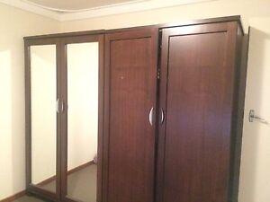 Jarrah wood solid wardrobe Perth Perth City Area Preview