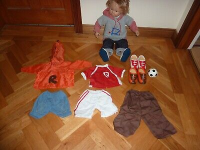 Smoby Robbie Doll , Clothes and Shoes Bundle Football Kit and Boots !