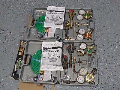Lot Of 2 Chicago Electric Heavy Duty Oxygen Acetylene Welding Kits S15