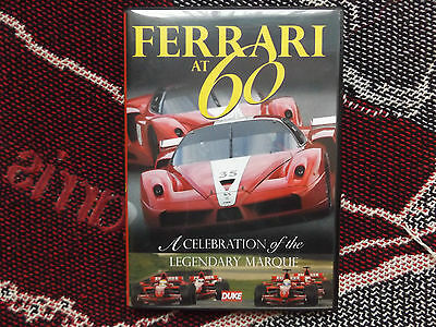 FERRARI AT 60 - REGION 0 DVD - DUKE - F1 and ROAD CAR MARANELLO