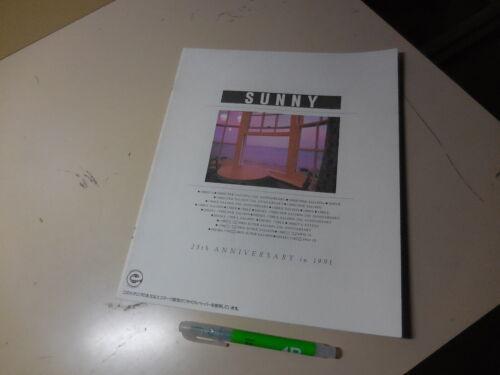 Nissan Sunny Japanese Brochure 1991/11 B13 SR18DE GA16DE GA15DS GA13DS CD17
