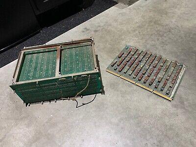 vintage rare Olivetti Programma 101 Electronic Calculator logic boards FIRST PC
