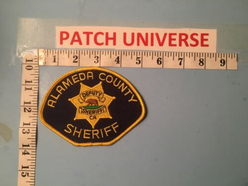 ALAMEDA  COUNTY CALIFORNIA  SHERIFF  SHOULDER PATCH     N041