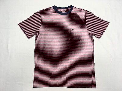 VINEYARD VINES POCKET STRIPED PIMA COTTON T SHIRT SIZE S BEST (Best Striped T Shirt)