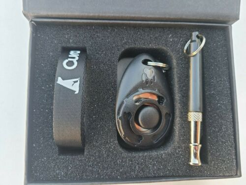3pcs Ultrasonic Dog Training Whistle + Pet Train Clicker + Free Lanyard Set Tool